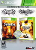 Saints Row Double Pack Xbox 360 Front Cover