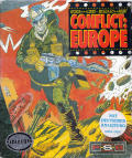 Conflict: Europe Atari ST Front Cover