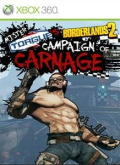 Borderlands 2: Mr. Torgue's Campaign of Carnage Xbox 360 Front Cover