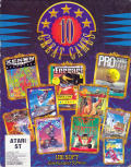 10 Great Games Atari ST Front Cover