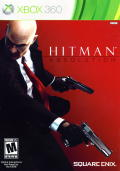 Hitman: Absolution Xbox 360 Front Cover