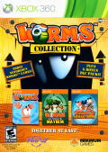 Worms Collection Xbox 360 Front Cover