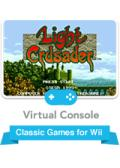 Light Crusader Wii Front Cover