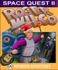 Space Quest II: Roger Wilco in Vohaul's Revenge Macintosh Front Cover