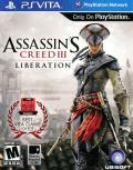 Assassin's Creed III: Liberation PS Vita Front Cover