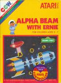 Alpha Beam with Ernie Atari 2600 Front Cover