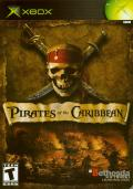 Pirates of the Caribbean Xbox Front Cover
