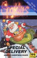 Special Delivery: Santa's Christmas Chaos Atari 8-bit Front Cover