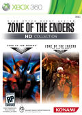 Zone of the Enders: HD Collection Xbox 360 Front Cover