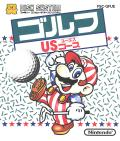 Family Computer Golf: U.S. Course NES Front Cover