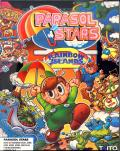 Parasol Stars: The Story of Bubble Bobble III Amiga Front Cover