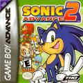 Sonic Advance 2 Game Boy Advance Front Cover