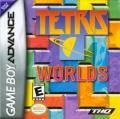 Tetris Worlds Game Boy Advance Front Cover