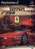 F355 Challenge: Passione Rossa PlayStation 2 Front Cover