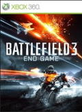 Battlefield 3: End Game Xbox 360 Front Cover