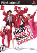 Disney High School Musical 3: Senior Year Dance! PlayStation 2 Front Cover