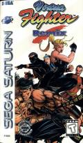 Virtua Fighter Remix SEGA Saturn Front Cover