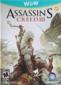 Assassin's Creed III Wii U Front Cover