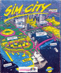 SimCity Atari ST Front Cover