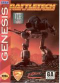 BattleTech: A Game of Armored Combat Genesis Front Cover
