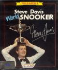 Steve Davis World Snooker Amiga Front Cover
