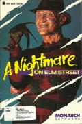 A Nightmare on Elm Street DOS Front Cover Outside Front Cover