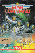 Star Command Amiga Front Cover