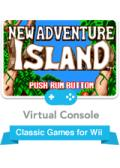 New Adventure Island Wii Front Cover