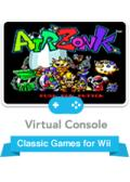 Air Zonk Wii Front Cover