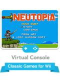Neutopia Wii Front Cover