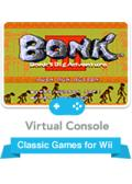 Bonk 3: Bonk's Big Adventure Wii Front Cover