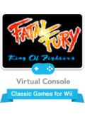 Fatal Fury Wii Front Cover