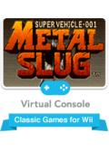 Metal Slug: Super Vehicle - 001 Wii Front Cover