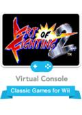 Art of Fighting 2 Wii Front Cover