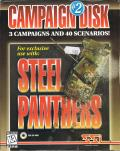 Steel Panthers: Campaign Disk #2 DOS Front Cover