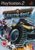 MotorStorm: Arctic Edge PlayStation 2 Front Cover
