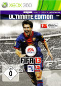 FIFA 13 (Ultimate Edition) Xbox 360 Front Cover