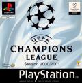 UEFA Champions League Season 2000/2001 PlayStation Front Cover