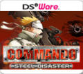 Commando: Steel Disaster Nintendo DSi Front Cover