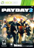 Payday 2 Xbox 360 Front Cover