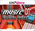 Music on: Electric Guitar Nintendo DSi Front Cover