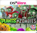 Plants vs. Zombies Nintendo DSi Front Cover
