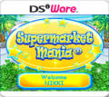 Supermarket Mania Nintendo DSi Front Cover