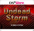 Undead Storm Nintendo DSi Front Cover