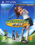 Hot Shots Golf: World Invitational PS Vita Front Cover
