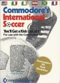 International Soccer Commodore 64 Front Cover