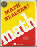 Math Blaster! DOS Front Cover