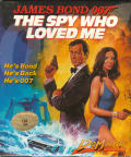 The Spy Who Loved Me Commodore 64 Front Cover