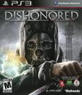 Dishonored PlayStation 3 Front Cover