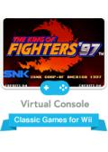 The King of Fighters '97 Wii Front Cover